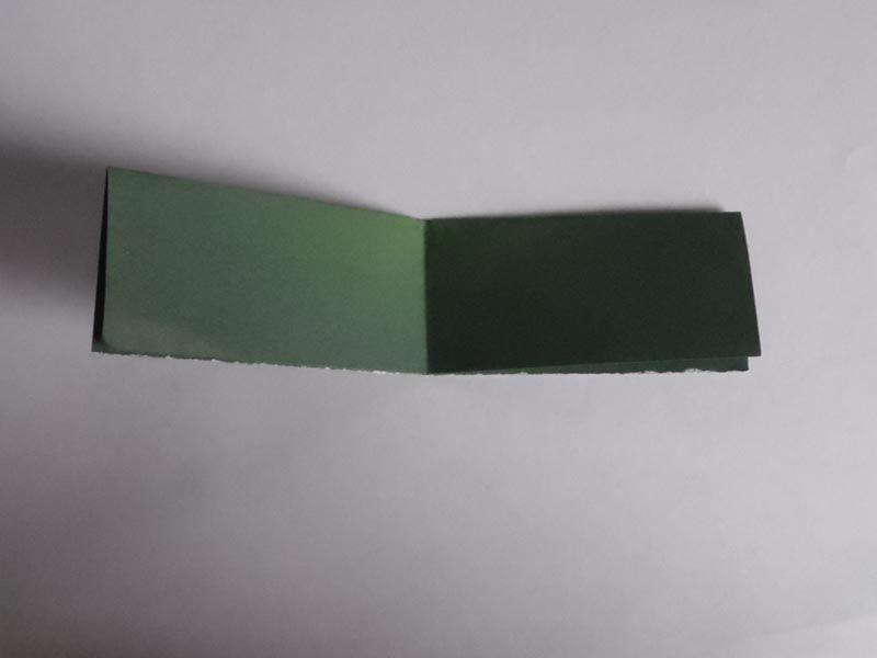 Simple rectangular paper folds
