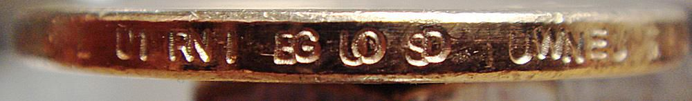 This Coin Was Found in the Chicago Area Doubled Edge Lettering From the Denver Mint