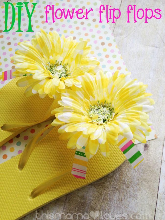 21195f93d7af6 20 Creative Ways to Make DIY Flip Flops