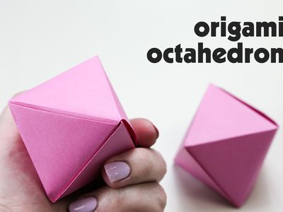 Origami Cube Gift Box Diagram