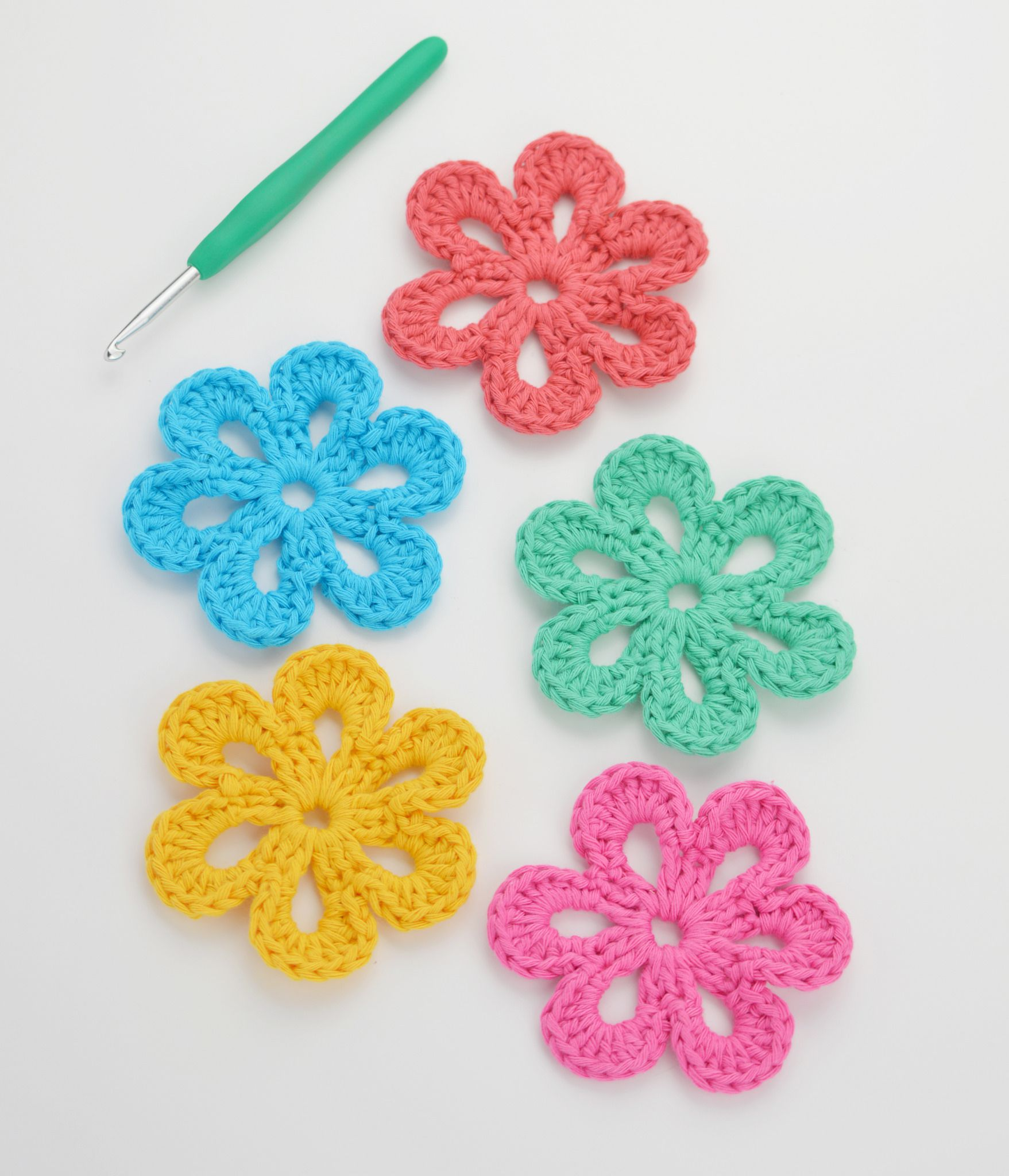 Free Crochet Flower Patterns Simple Design Inspiration