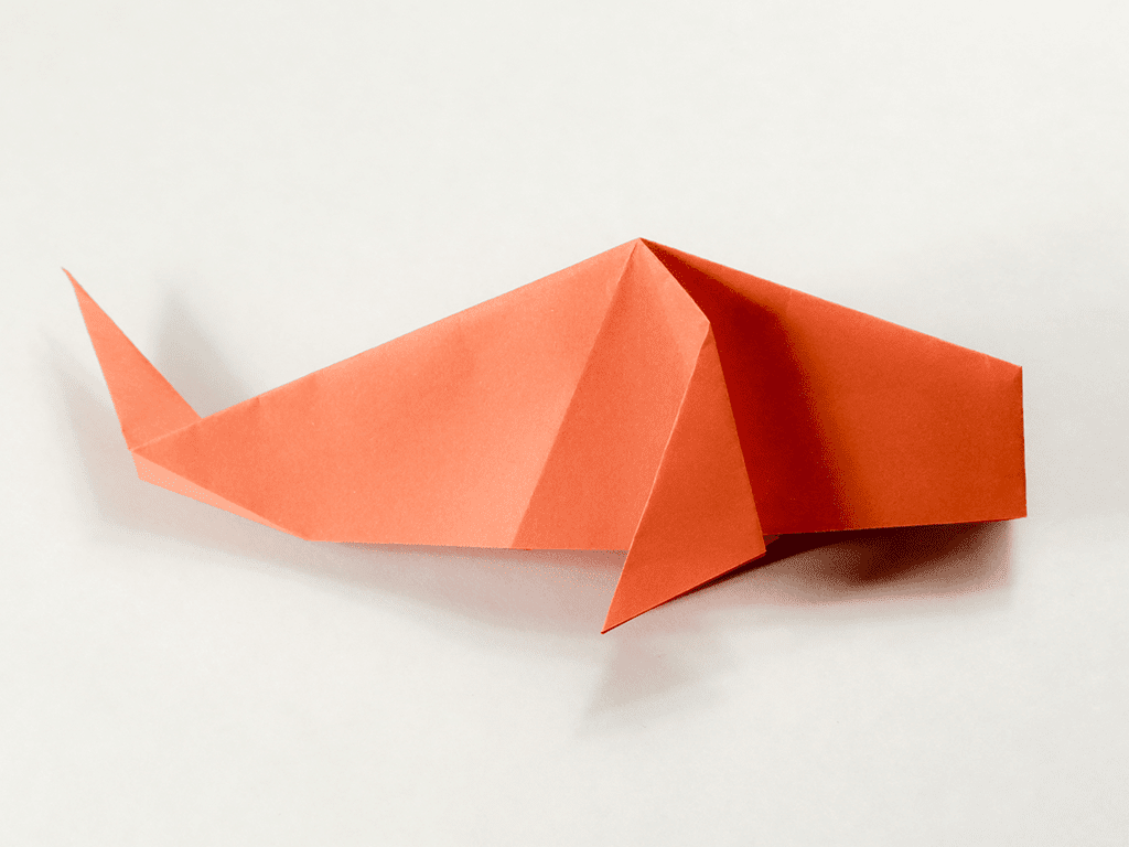 Easy Traditional Origami Fish Tutorial - photo#50