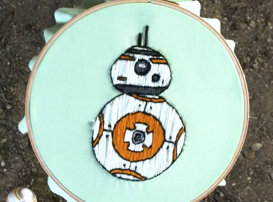 8 Free Embroidery Patterns Inspired By Star Wars