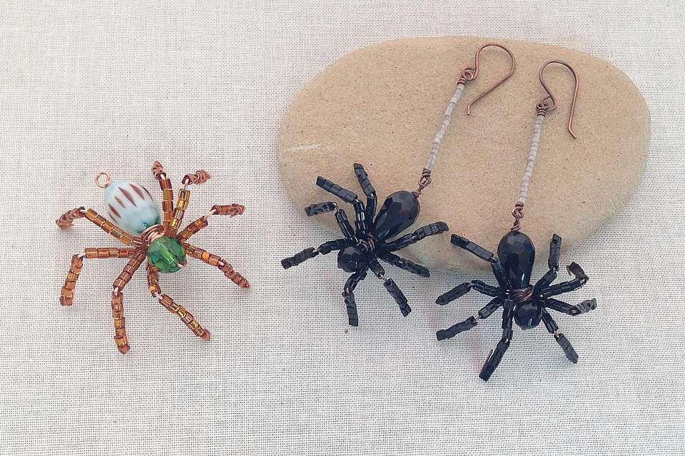 Beaded Spider Jewelry