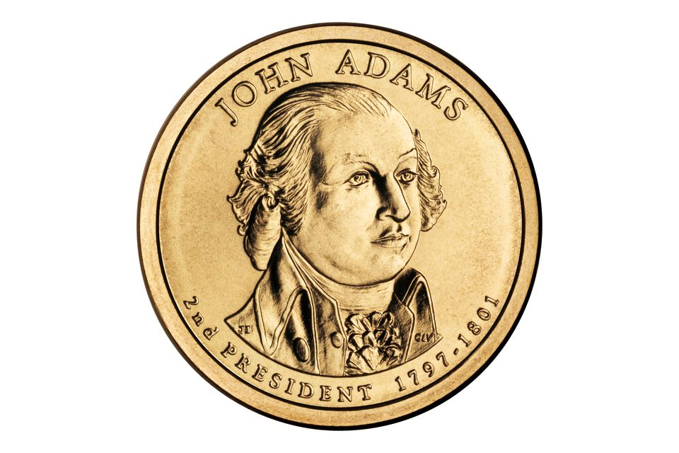 2007 John Adams Presidential Dollar Coin