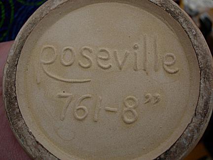 Roseville Reproduction Mark
