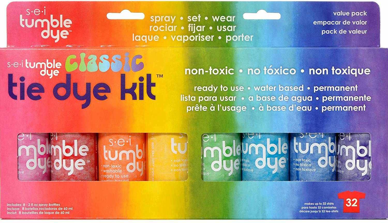 SEI Tumble Dye Craft & Fabric Tie-Dye Kit