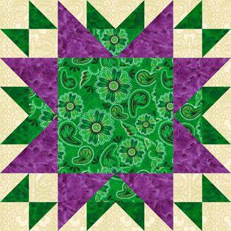 Oddfellows Chain Quilt Block Pattern