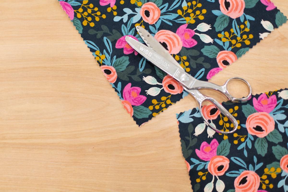 Make reusable fabric food wraps