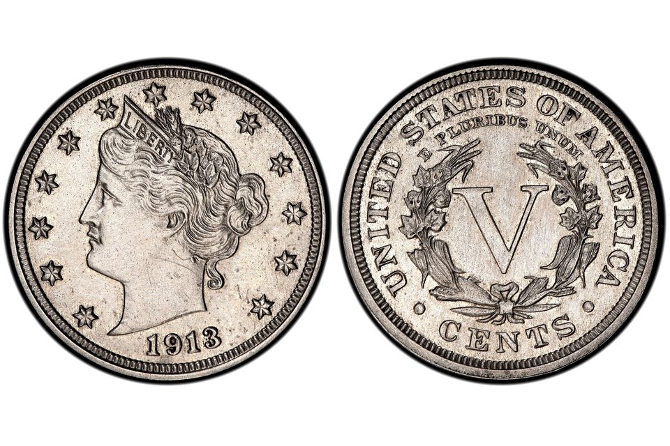 1913 Liberty Head Nickel Walton Specimen
