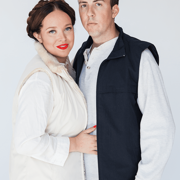 DIY Star Wars couples costume