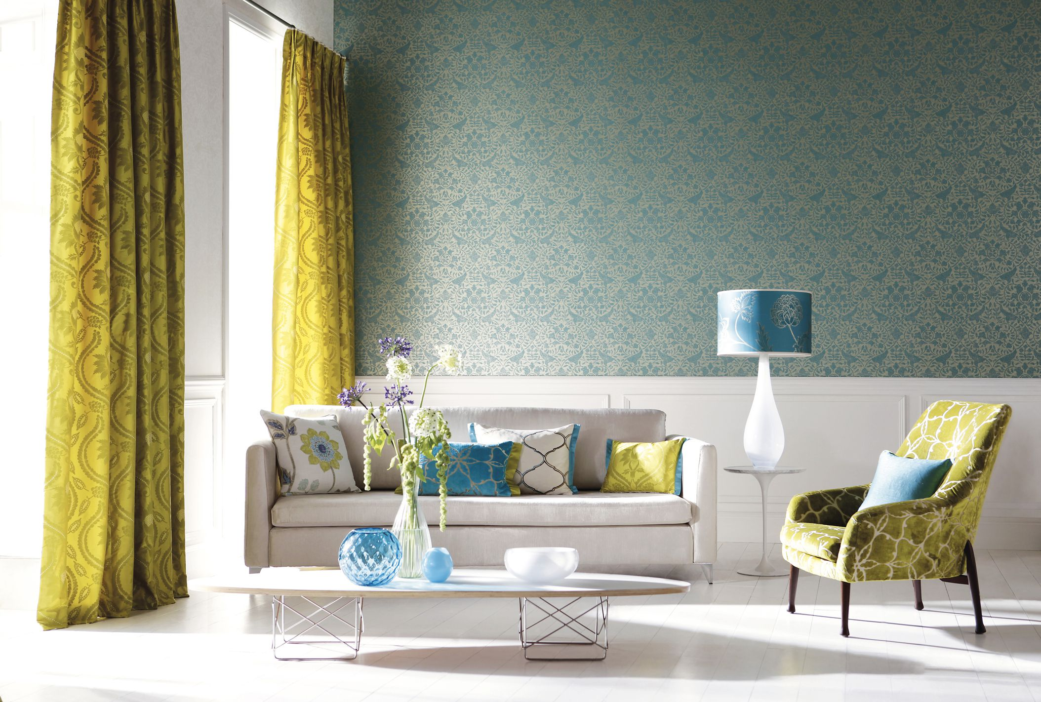Image result for curtain living room
