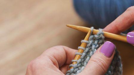 Steps For Binding Off In Knitting