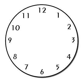 Clip art clock
