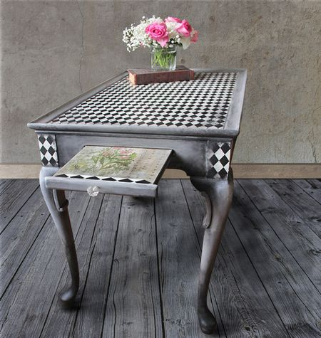 Astounding 10 Unique Ways To Update A Table With Decoupage Download Free Architecture Designs Grimeyleaguecom