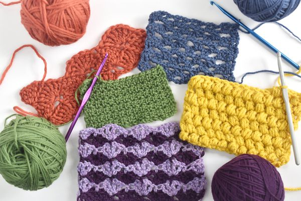 Popular Crochet Stitch Patterns