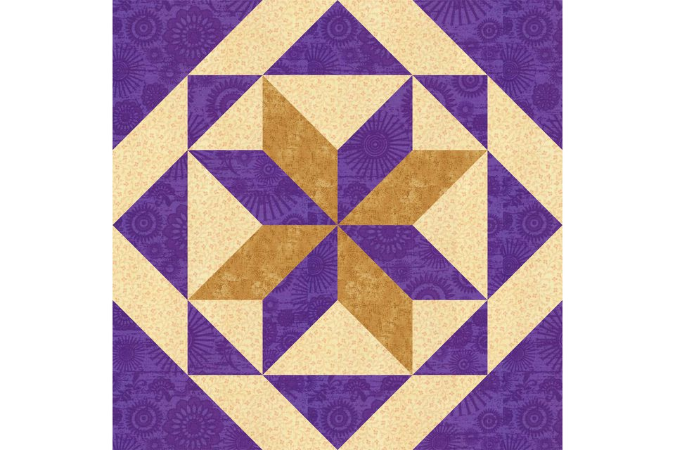 All Hallows Quilt Block Pattern