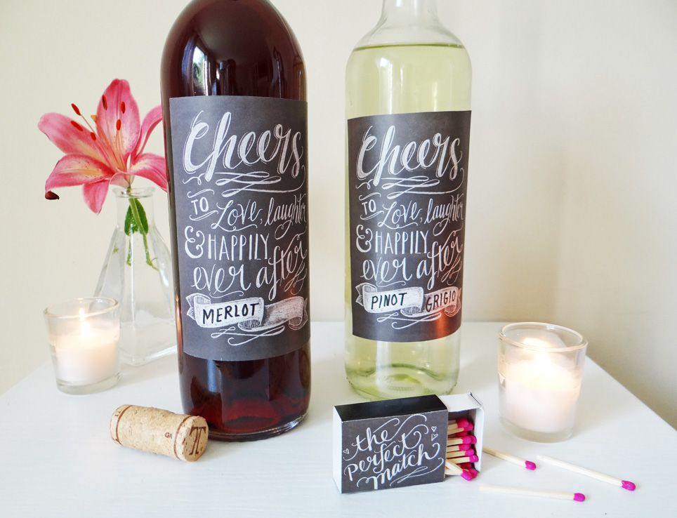 Wedding Wine Labels.Free Diy Wine Label Templates For Any Occasion
