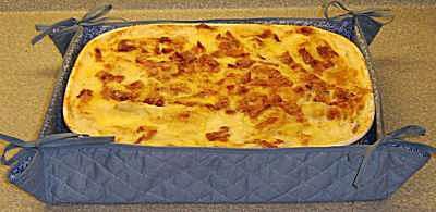Free Pattern to Sew a Fabric Dish or Dish Insulator
