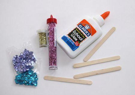 Diy Popsicle Stick Snowflake Craft