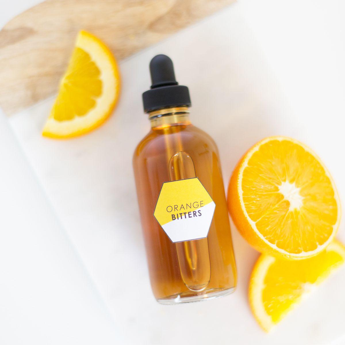 DIY Orange Bitters