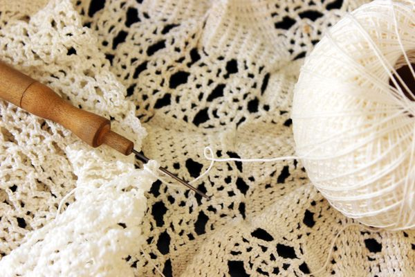 Crochet Thread and Hook