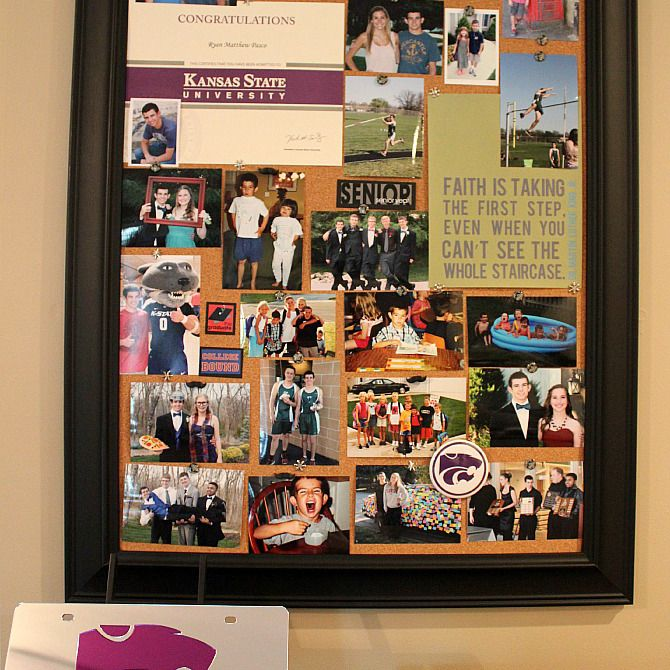 Photo Cork Board