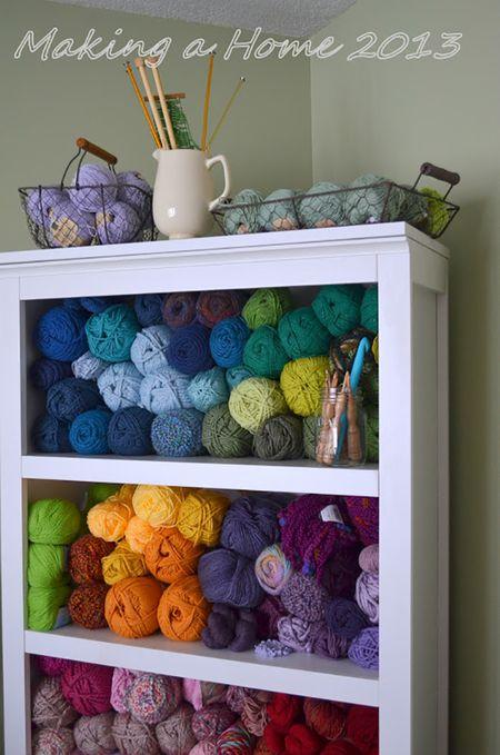 15 Clever Yarn Storage Ideas