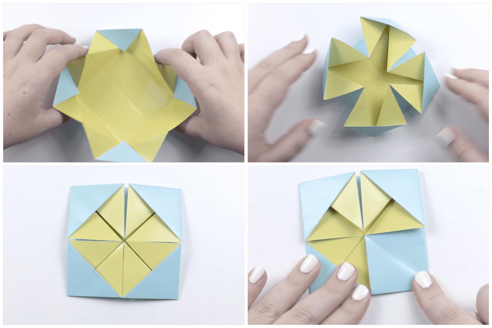 Origami Quilt Artwork Tutorial 03
