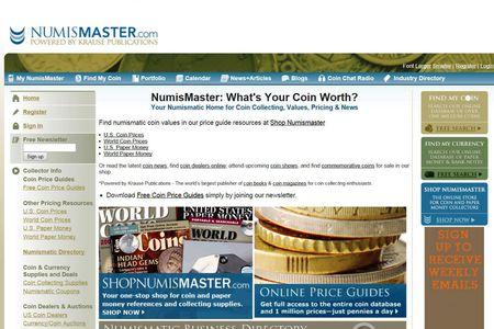 Numismaster Coin Management Software
