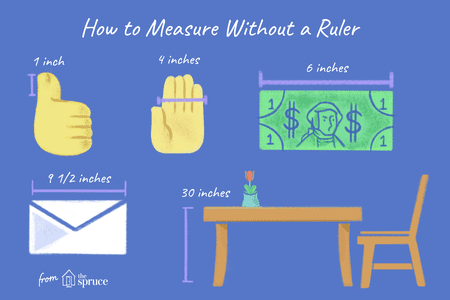 How To Estimate Measurements Without A Ruler Or Tape Measure
