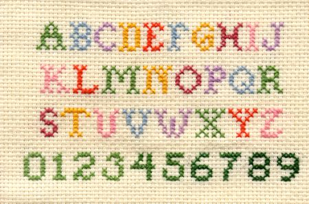 Free Alphabet Cross Stitch Patterns Custom Cool Cross Stitch Patterns