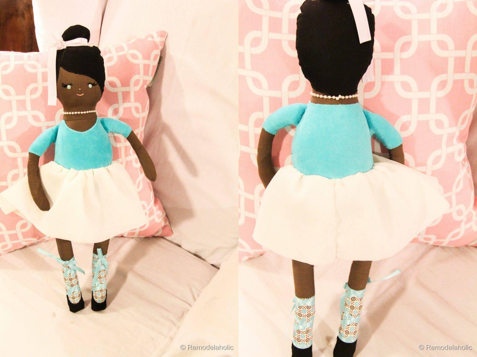 Ballerina Doll Sewing Pattern