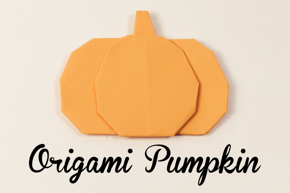 Origami Pumpkin Tutorial