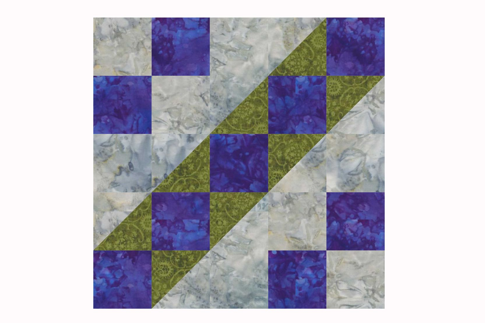 10 inch 9 patch quilt block pattern