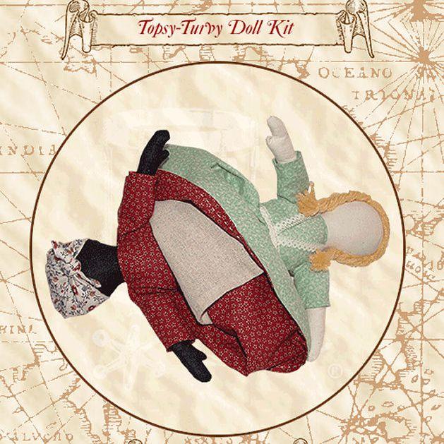 Topsy-Turvy Doll Patterns and Kits