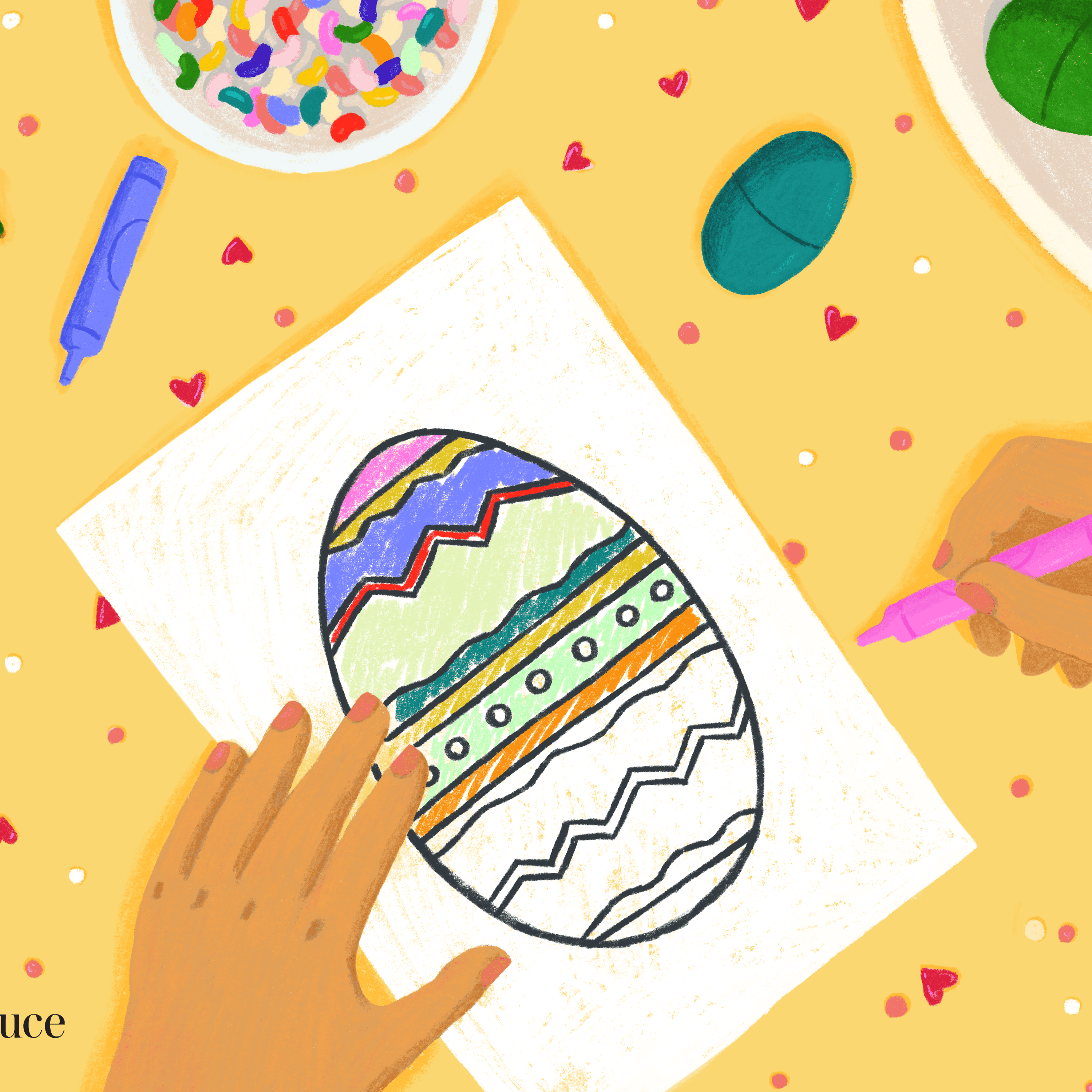 Vintage Easter Coloring Book | Free Coloring Pages | 3000x3000