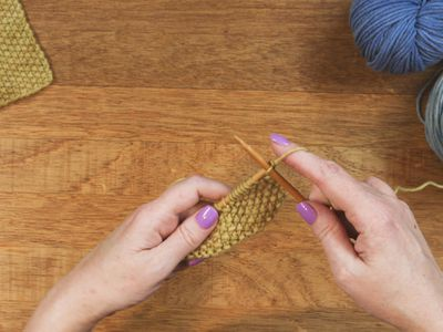 Converting Pattern Stitches To Knit In The Round