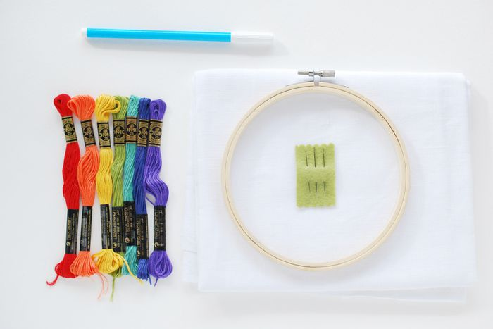 Quick-Start Embroidery Supplies