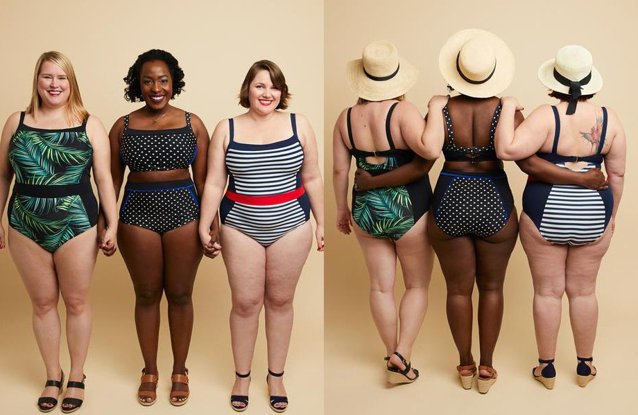 Ipswich Swimsuit Pattern for Women With Curves