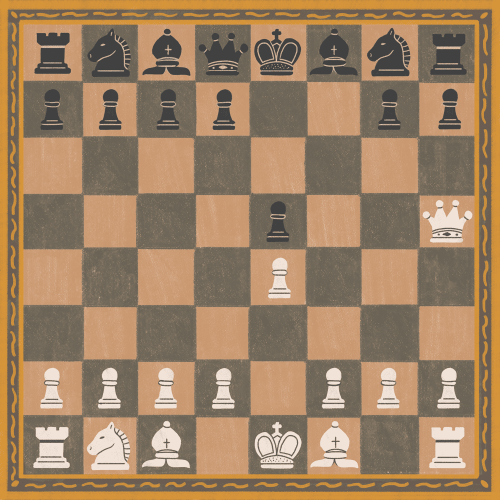 Illustration of king safety in chess