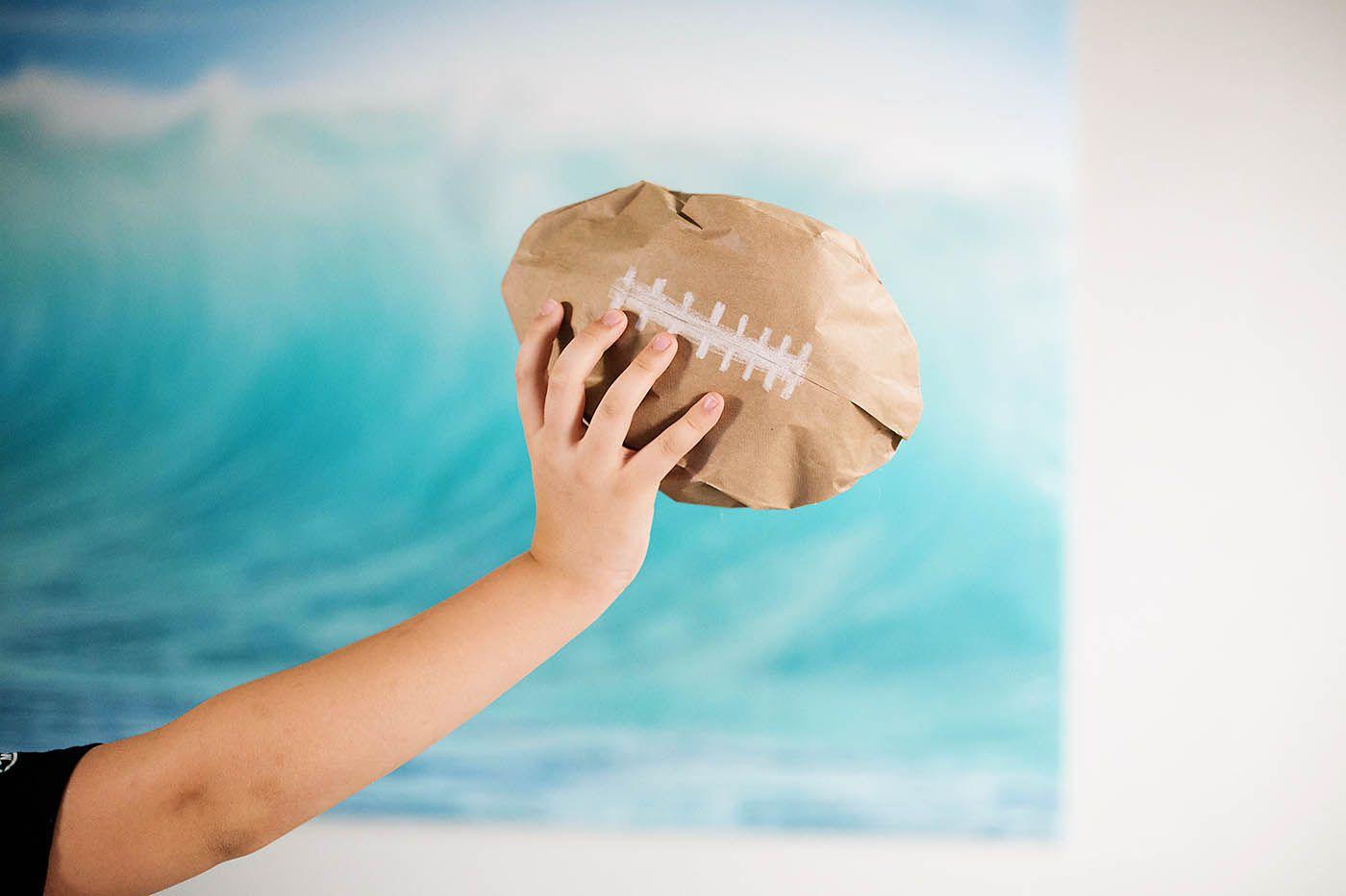 diy paper football