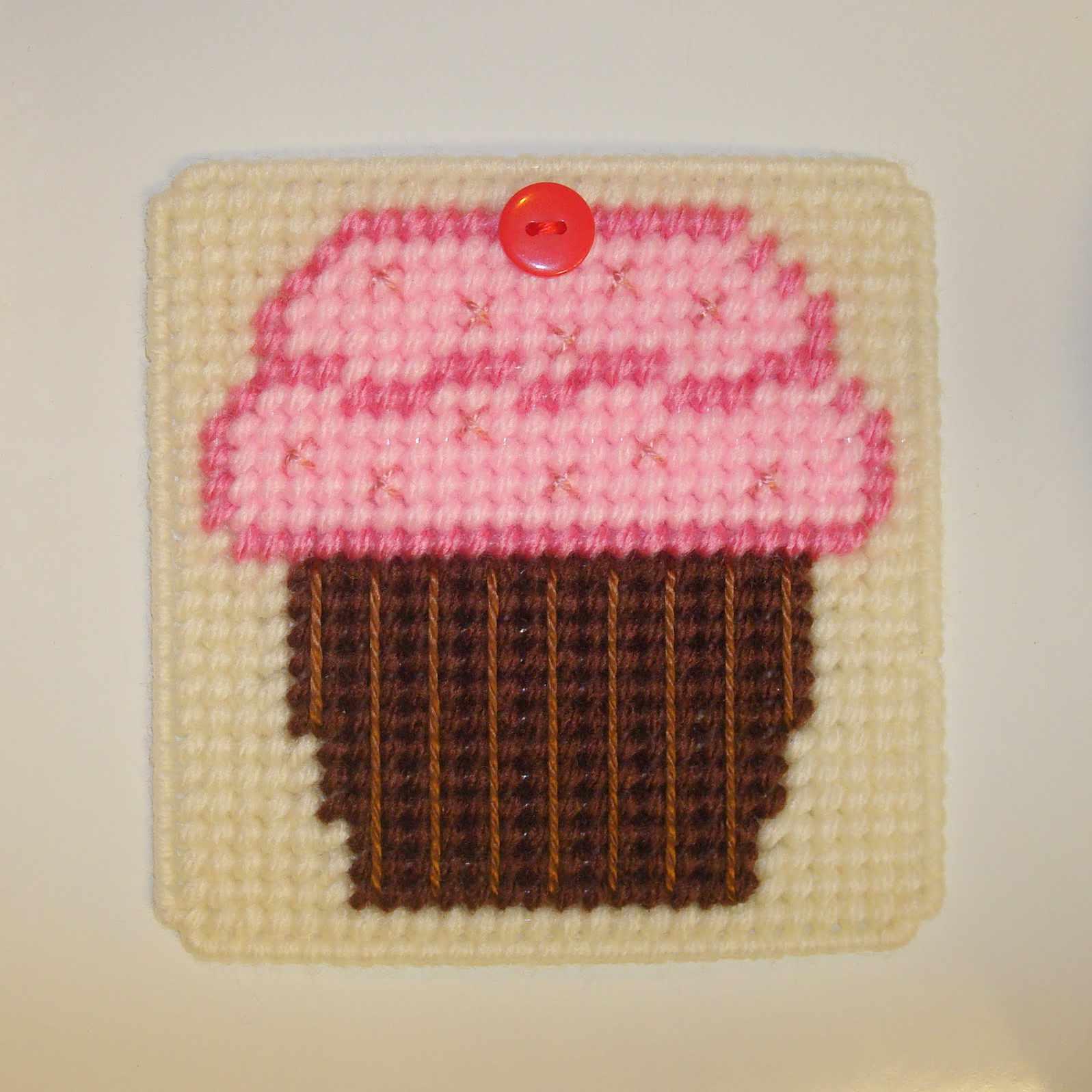Cupcake coaster