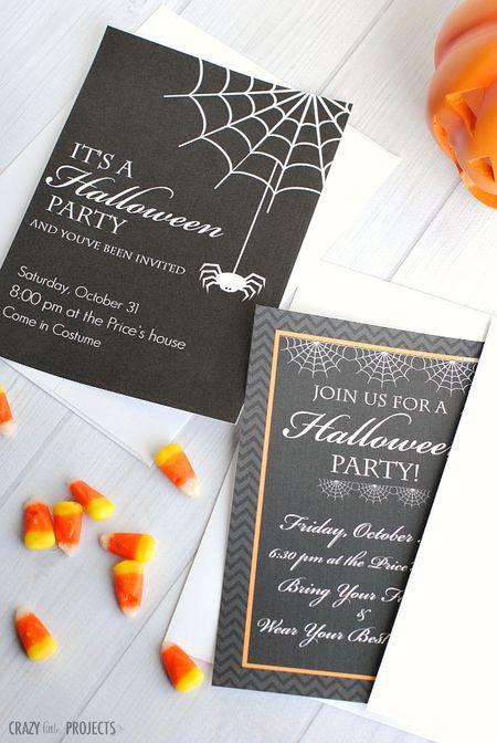 Fall Halloween Birthday Party Ideas