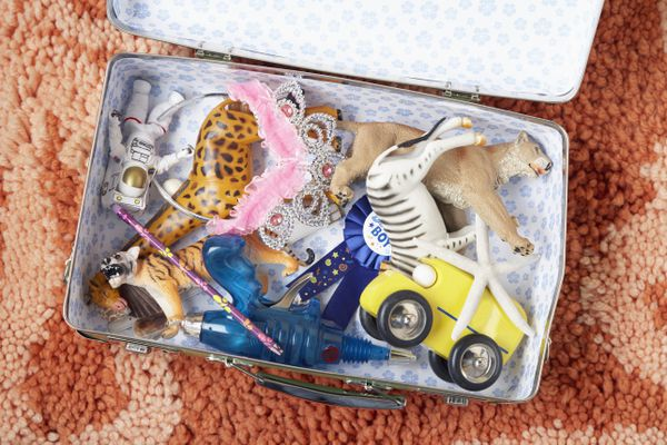 Suitcase Full of Toys