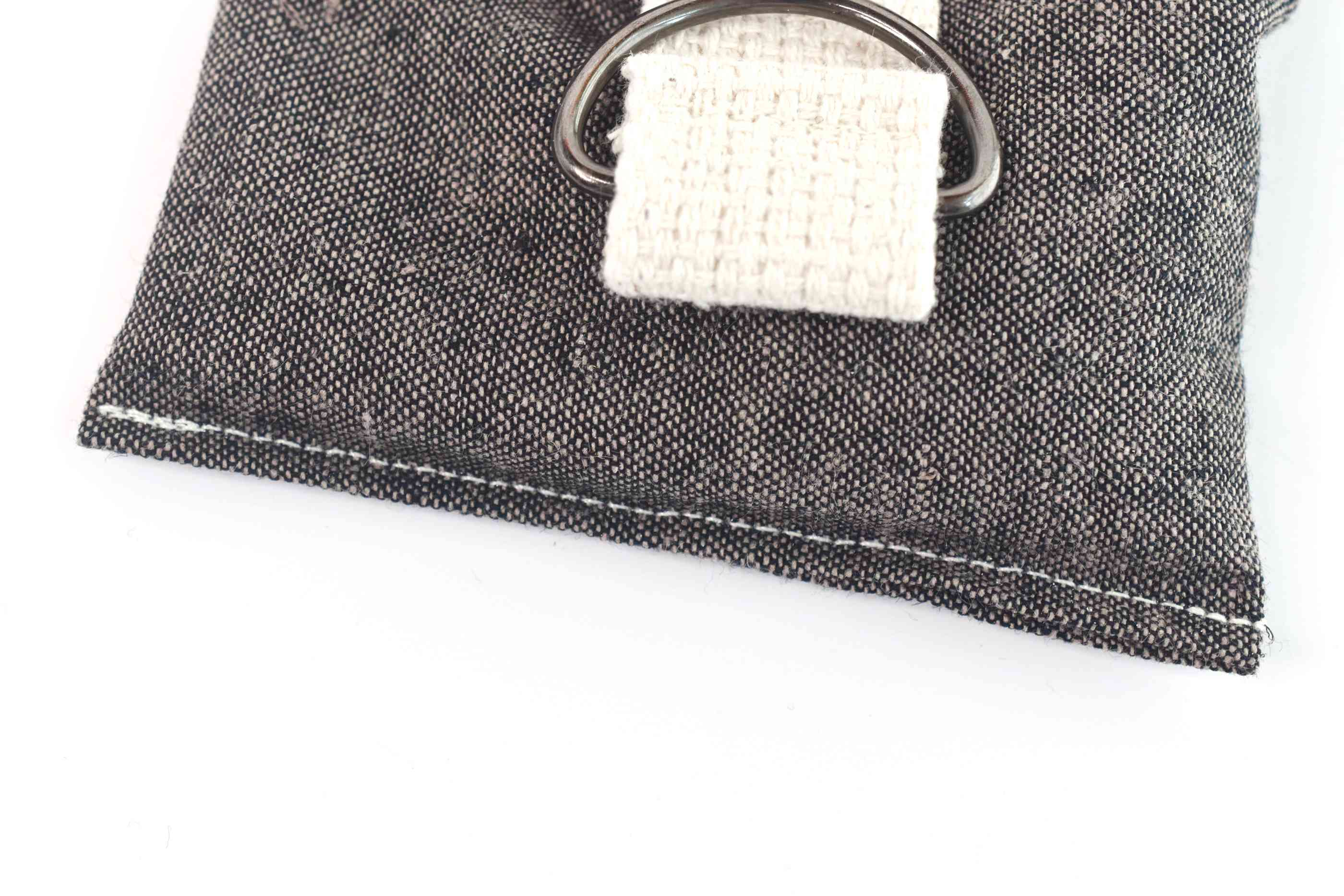 Sew the End of the Wrist/Ankle Weight Closed