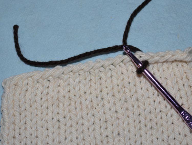 draw up a loop single crochet