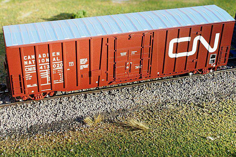 Modeling Boxcars: a Common Freight Car