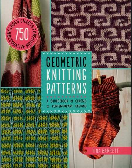 Geometric Knitting Patterns By Tina Barrett