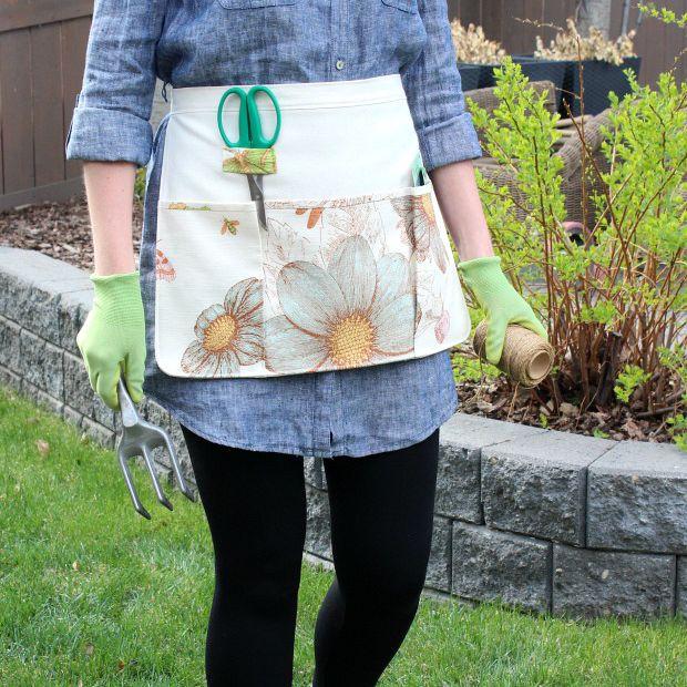DIY Gardening Apron